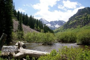 Maroon Bells in Colorado