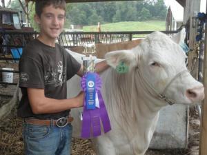 Noah & Champ steer
