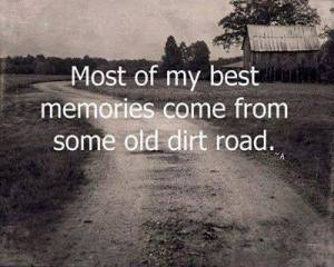 Old dirt road