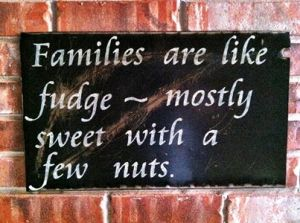 families like fudge