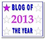 blogger 20-13 award